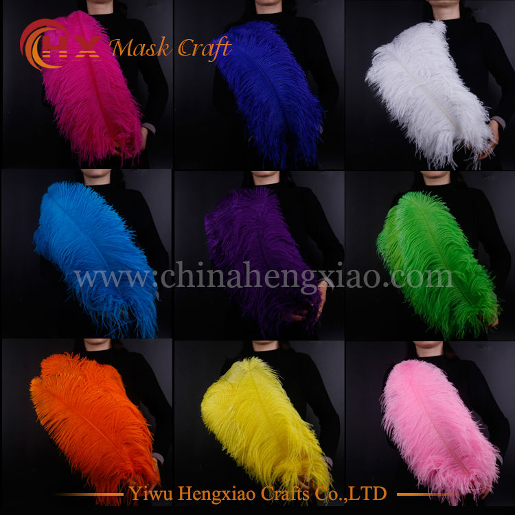 b58f14d9c8d CHINA HX Factory wholesale 55-60cm carnival ostrich feathers for wedding  decoration