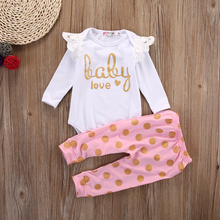 2Pcs Polka Dot Clothing Set 0-18M