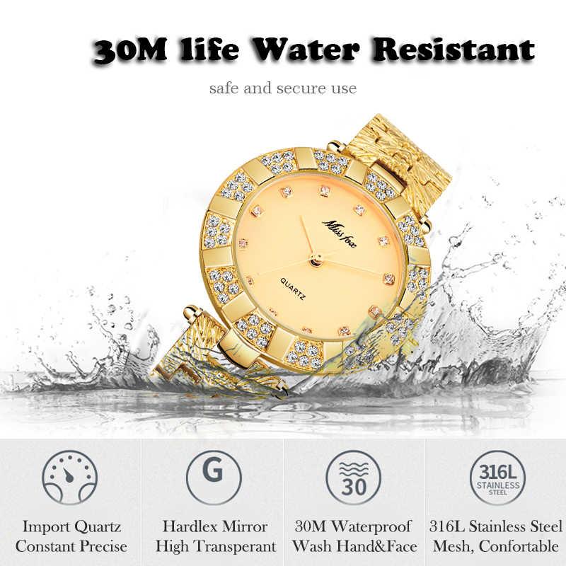Missfox часы женские наручные платье женское водонепроницаемый чехол xfcs браслеты женские ремешок для часов спортивные браслет для часов водонепроницаемые часы мужские наручные
