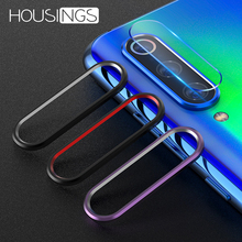 For Xiaomi Mi 8 Phone Back Camera Lens Protector 9 SE Protective Film Tempered Glass Metal Ring