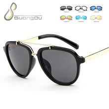 2018 nuevo piloto moda niños gafas de sol niños niñas niños bebé seguridad  lindo gafas de sol oculos gafas de sol uv400 62c8403de933