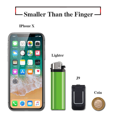 "Mini Flip Mobile Phone LONG-CZ J9 0.66"" Smallest Cell Phone Wireless Bluetooth Dialer FM Magic Voice Handsfree Earphone For Kids Islamabad"