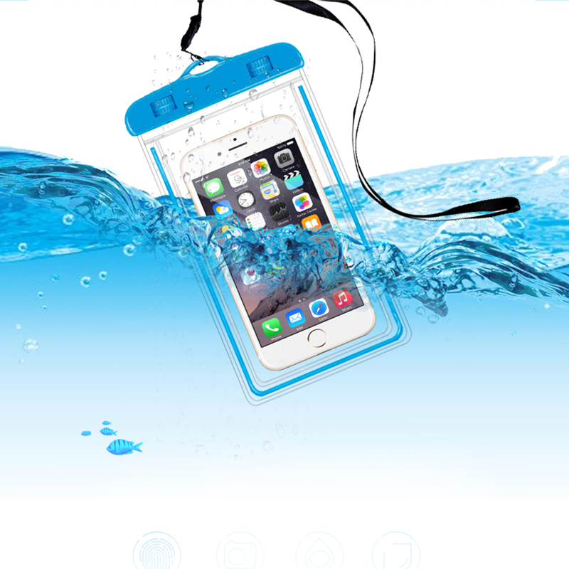 Waterproof Pouch Cell Phones Portable Bag Convenient to Use Lightweight Useful Dropping Drop Shipping Universal Phone 3.5/6 inch
