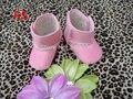 Nuevo bebé caliente de goma inferiores primero andadores zapatos de algodón acolchado botas de nieve KP-BA5