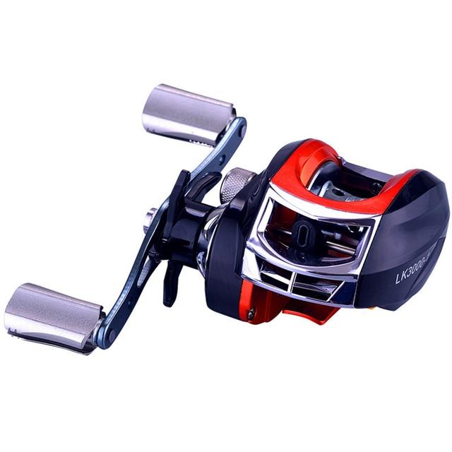 YUYU Baitcasting moulinet de pêche métal bobine frein 6 kg haute vitesse 7.2: 1 leurre bobine 14 + 1BB magnétique frein appât moulage bobine