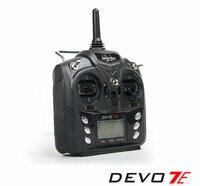 Original Walkera 2 4G 7 Channels Remote Control DEVO 7 Transmitter RX701 Receiver For DIY FPV