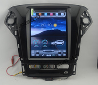 10.4 12.8 tesla style vertical screen android 6.0 Quad core Car GPS radio Navigation for ford Mondeo 2011 2012