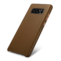 Original XOOMZ Genuine Leather Case For Samsung Galaxy Note 8 Case Luxury Super Touch Feeling Slim