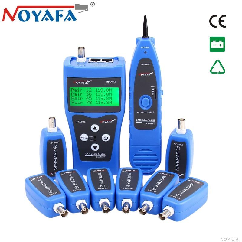Original Noyafa NF 388 LAN Network Cable Tester USB BNC RJ45 RJ11 Line Finder Phone Telephone