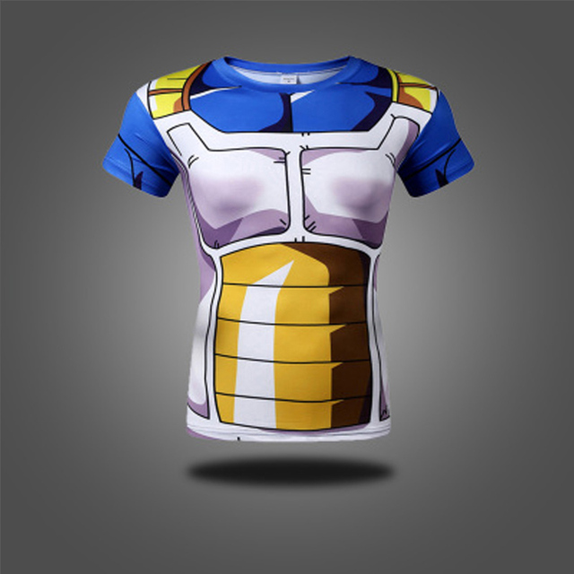 Anime Dragon Ball Z Super Saiyan Roleplay Goku 3D T shirt