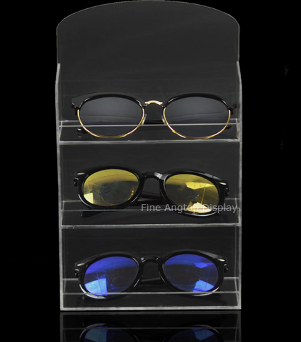 Tabletop Acrylic Makeup Storage Box Organizer Eyeglasses Box Jewelry Box Accessories Display Holder Sunglasses Shelf display box