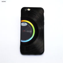 Vinyl record phone cases for iPhone X 5 5S Se 6 6S 7 8 6 Plus 6S Plus 7 Plus 8 Plus