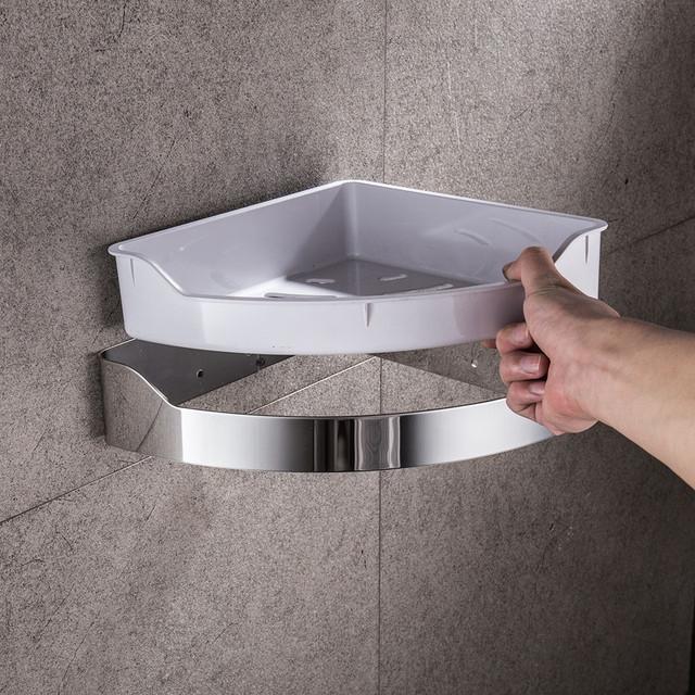 Stainless Steel Bathroom Shelf Removable