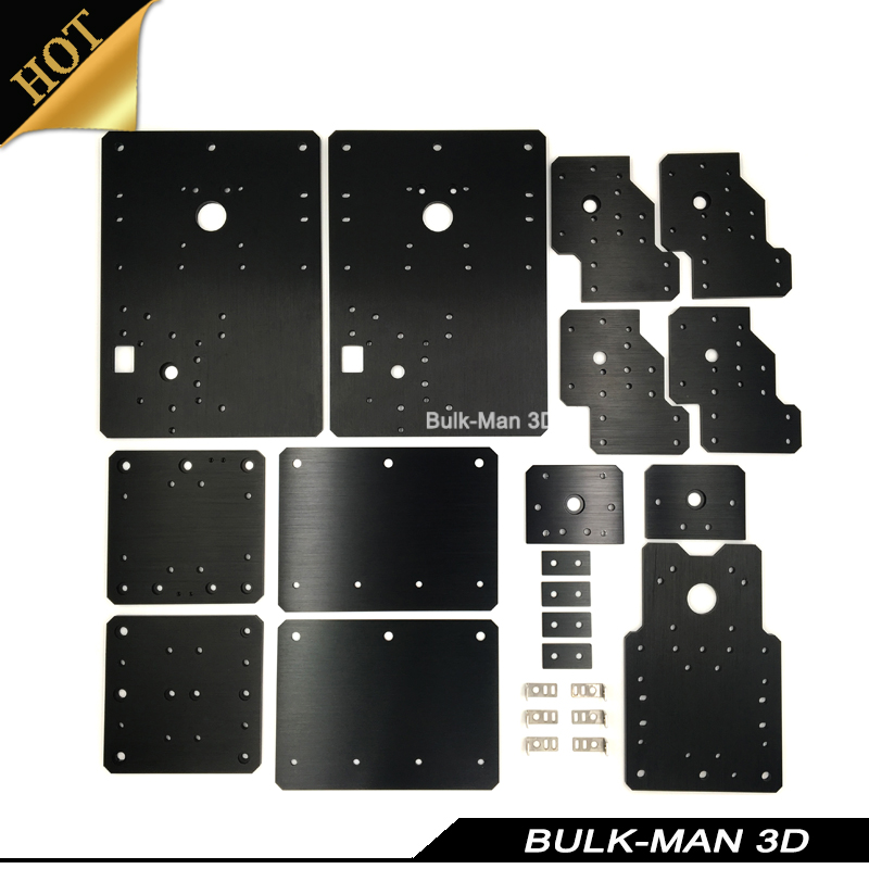 High Precision WorkBee CNC Plates Sets for WorkBee CNC Wooding Router Machince - Screw and Belt Driven цена