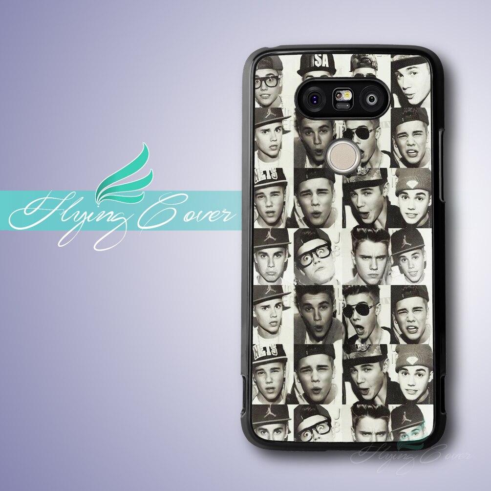 ᗑ】Fundas Justin Bieber Collage fundas de teléfono para LG G5 G4 G3 ...