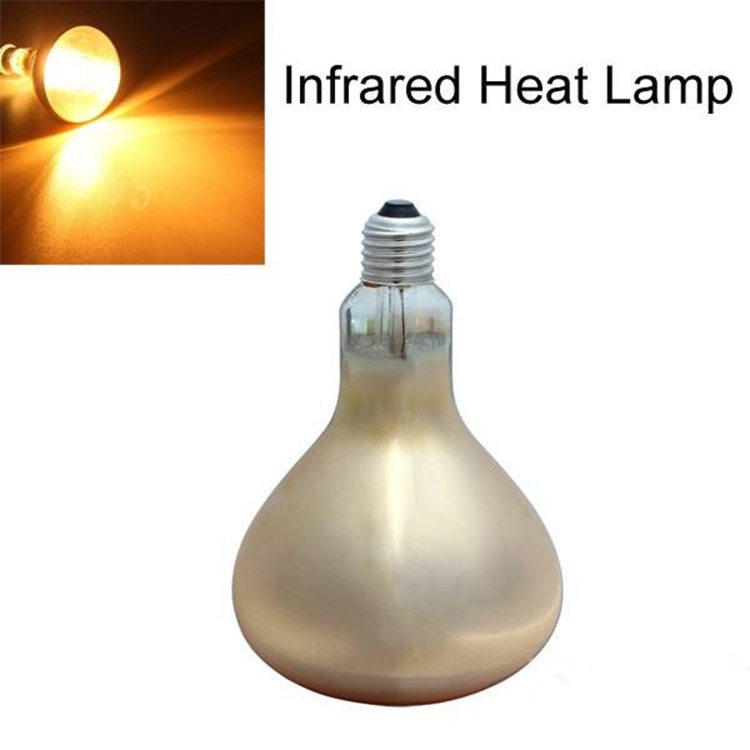 E27 275W Water-proof Anti-explosion Infrared Heat Lamp Bulb AC 220V