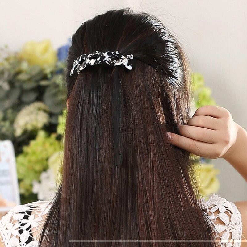 2017 Կանանց Մազերի պարագաներ Rhinestone Hair - Հագուստի պարագաներ - Լուսանկար 4