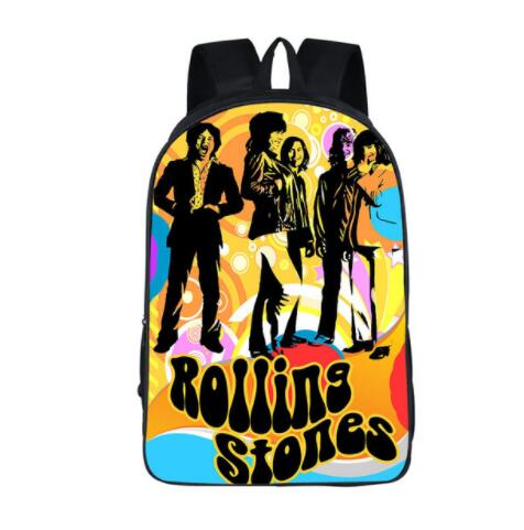 Rolling Stones/Pink Floyd Women Backpack School Boys Girls Hip Hop Bags Hot Rock Children Schoolbag Laptop Men Travel Bags