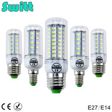 Switt High Power 220v 240v LED Lamp corn bulb Spotlight SMD 5730 lampada led  E27 lamparas 9W 12W 15W 18W 20W Warm Cold white