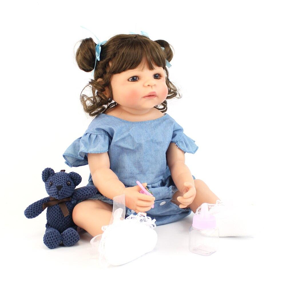 brinquedo para a menina boneca vinil recém-nascidos