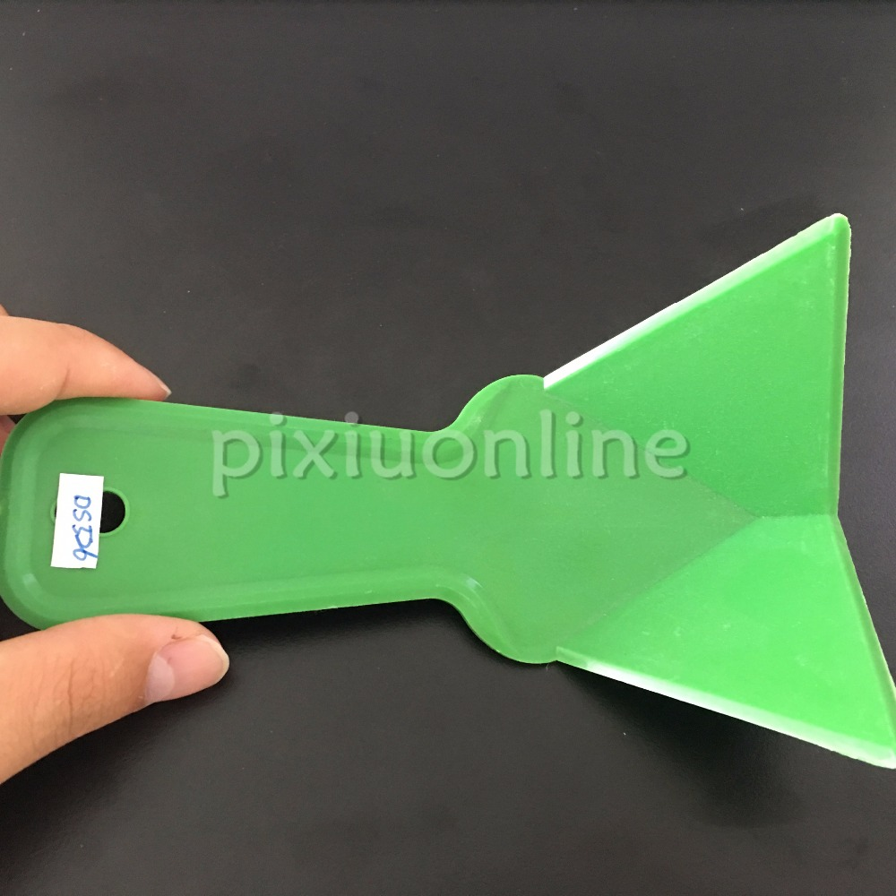 1pc DS526 Green Plastic Puttying Tools Wall Putty Dispose Free Shipping Brasil