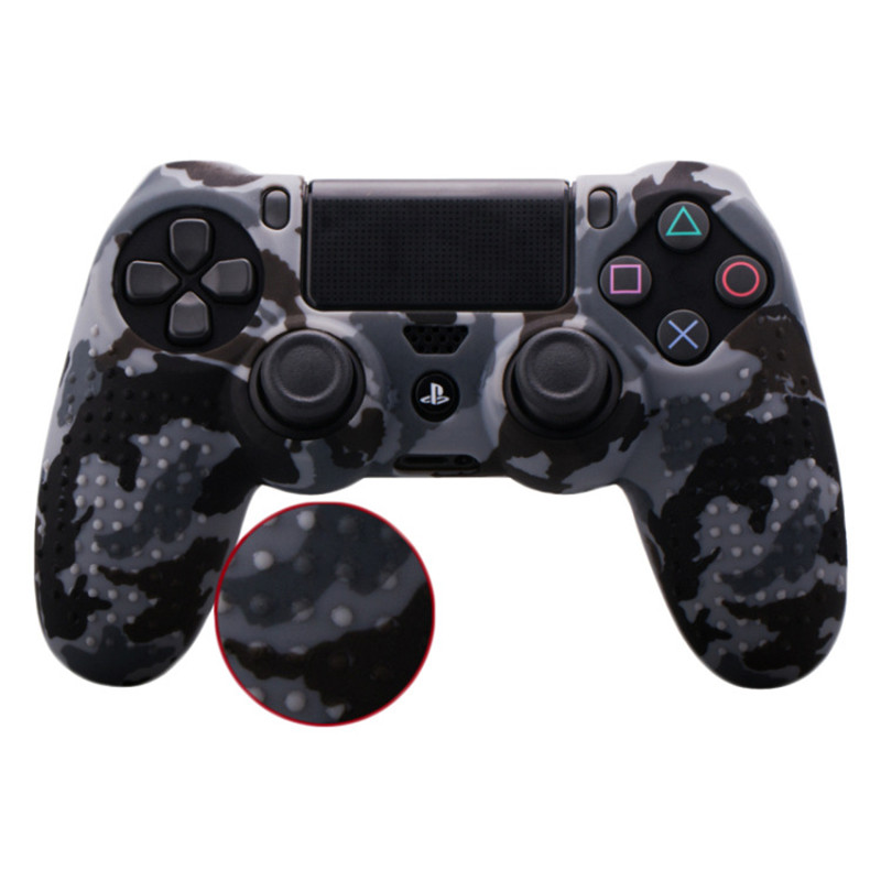Anti-slip Silicone Case Protective Cover Skin Shell For Sony PlayStation  Dualshock 4 PS4 Slim PS4 Pro Controller Game AccessoryAnti-slip Silicone Case Protective Cover Skin Shell For Sony PlayStation  Dualshock 4 PS4 Slim PS4 Pro Controller Game Accessory