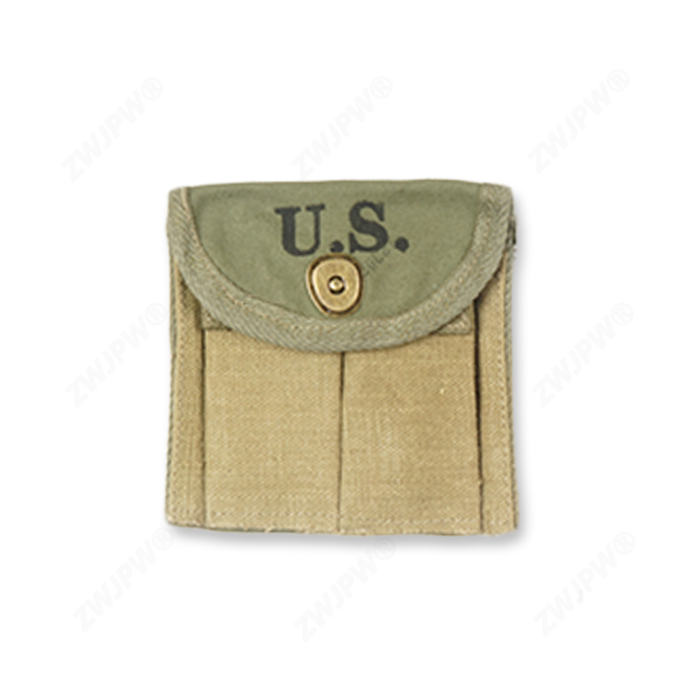 WWII WW2 US Army Military M1 Carbine Ammunition Pouch Ammo Pouch Canvas US/104101