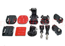 For HDR-AS30V AS15 20 100V Action GoPro Camera Adapter Base Adhesive Mount Set(China)