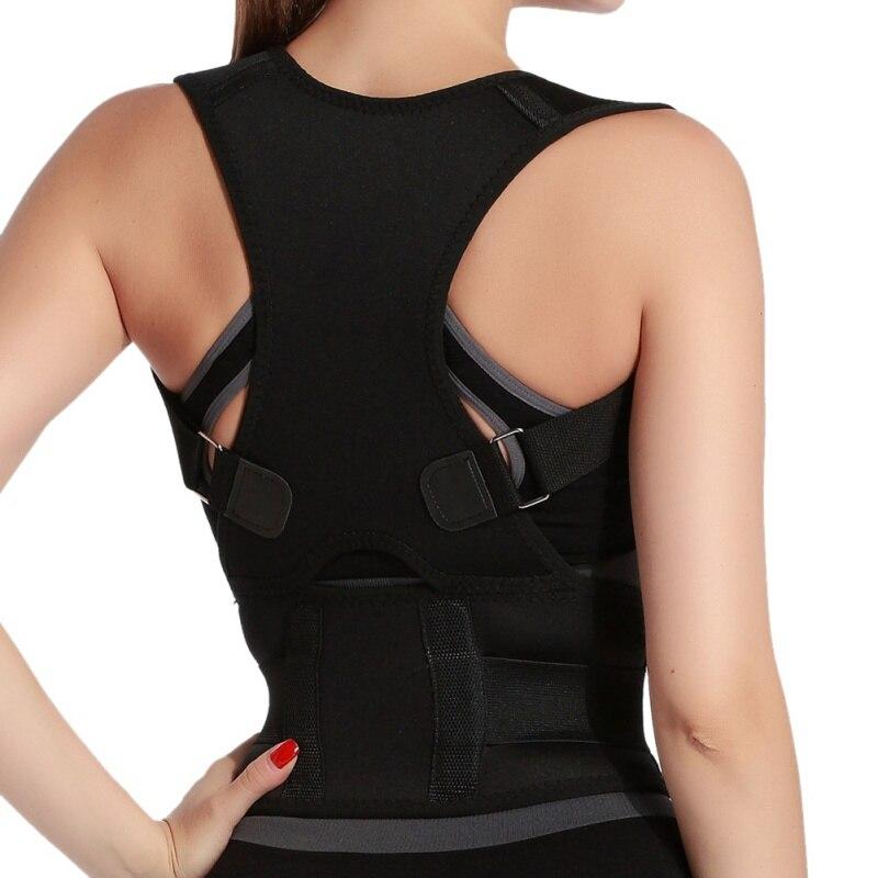 Men&Women Braces Supports Belt Posture Shoulder Corrector Therapy Posture Corrector Brace Shoulder Back Support Belt