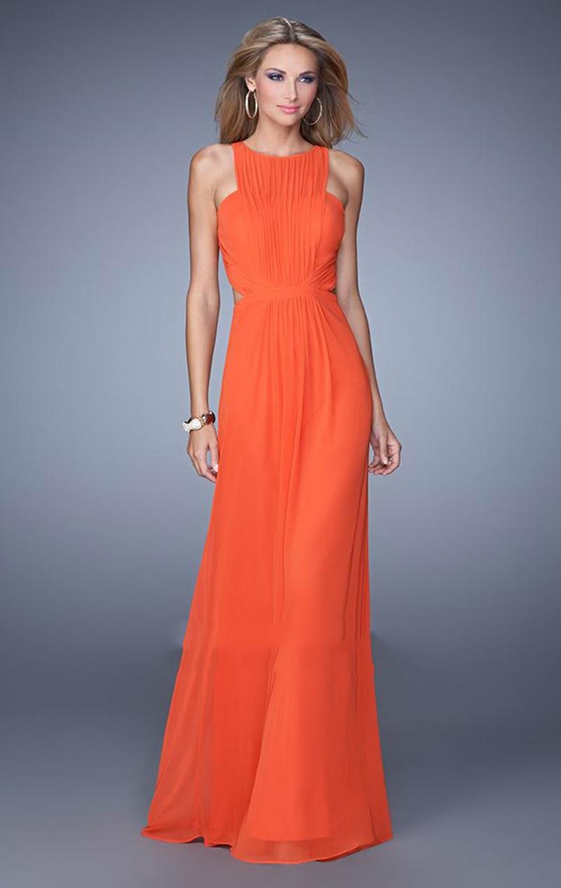 Long Orange Evening Gowns – fashion dresses