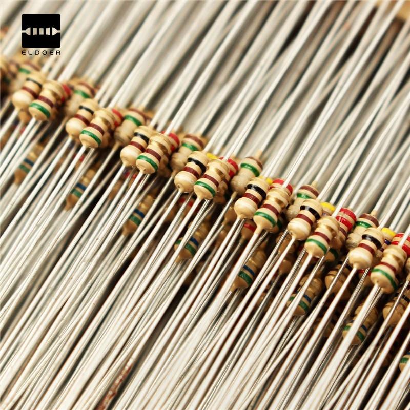 100pcs 1//8W 0.125W 1/% Metal Film Resistor 330 ohm