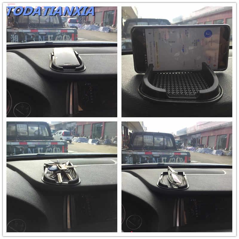 טלפון נייד מקל דביק לוח מחוונים רכב אנטי סליפ Pad גומי 6 chrome מאזדה 2011 bmw f10 hydrographics הונדה fit gk5