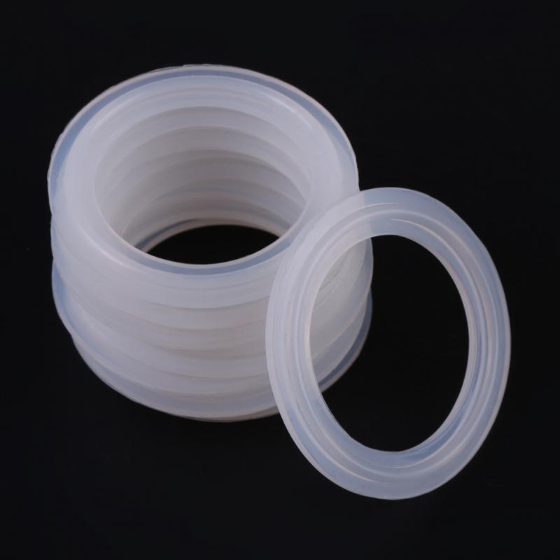 "2.5/"" Silicon Ferrule Gasket Sanitary Fitting"
