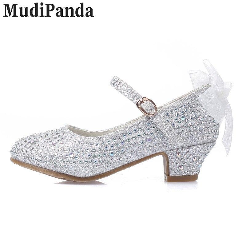MudiPanda sandały dla dziewczynek dziecięce wysokie obcasy - Obuwie dziecięce - Zdjęcie 5