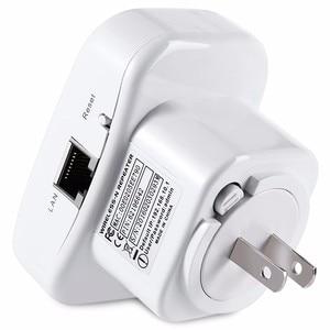 Image 5 - 2,4 ГГц, 300 Мбит/с, Беспроводной Wi Fi роутер, усилитель сигнала, шифрование Wps с вилкой EU/US/UK/AU
