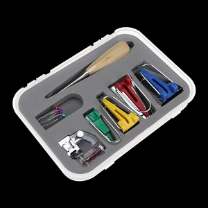 Image 4 - Macchine Utensili Vincolante Cucire Multifunzione Da Cucire Bias Tape Maker Set FAI DA TE Patchwork Quilting Strumento