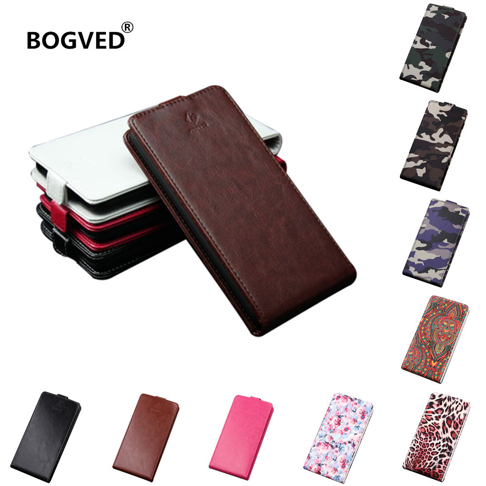Phone case For Alcatel Idol 5 6058D 6058 leather case flip cover for Alcatel Idol5 6058 D Phone Bags PU capas back protection