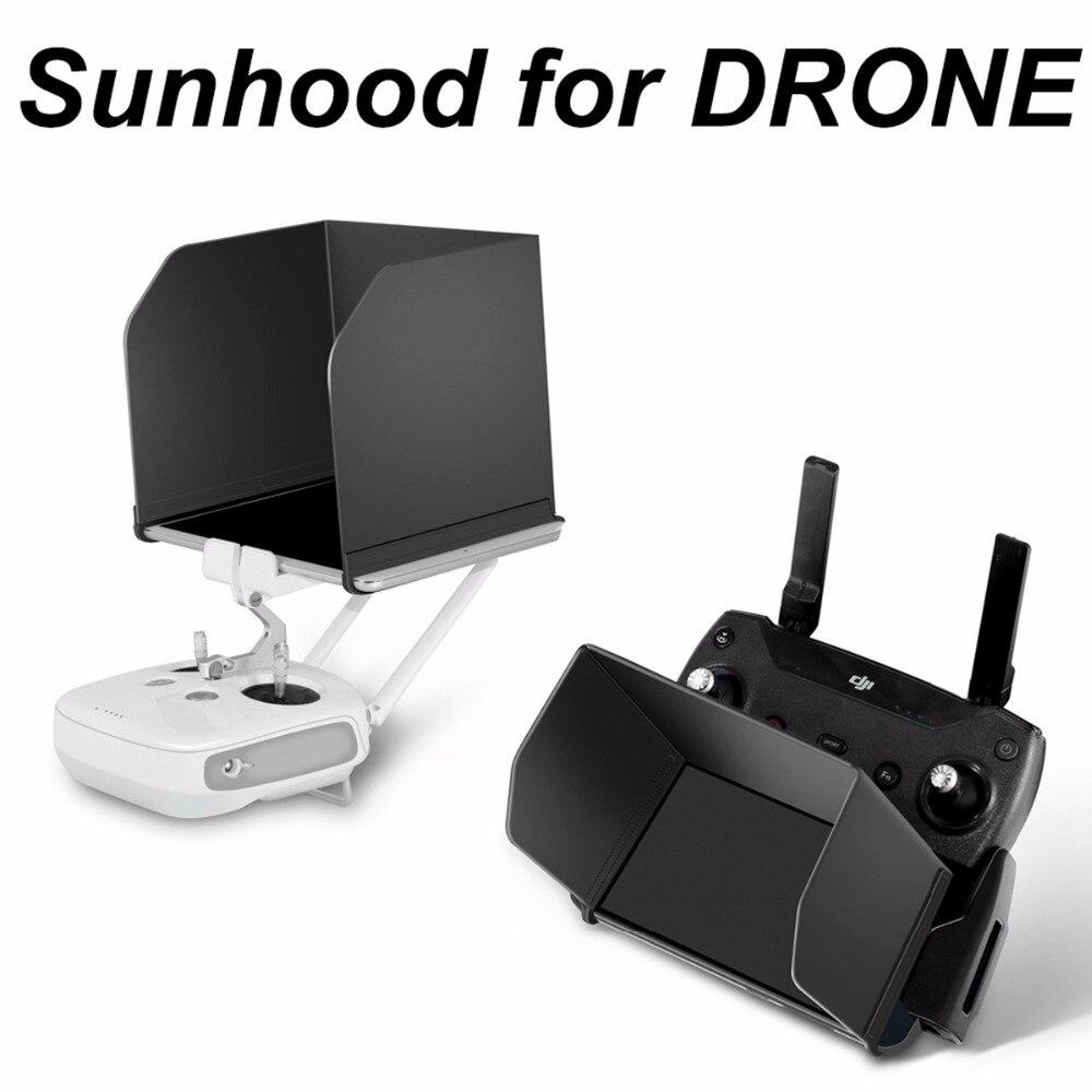 4,7-9,7 controlador remoto Tablet sombra de sol Monitor Hood para DJI Mavic Pro aire Mavic 2 Zoom chispa fantasma 3 4 Drone para teléfono
