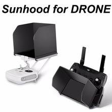 Controlador remoto de teléfono sombrilla Tablet sombra de sol Monitor Hood para DJI Mavic Pro aire Mavic 2 Zoom chispa Phantom 3 4 Drone