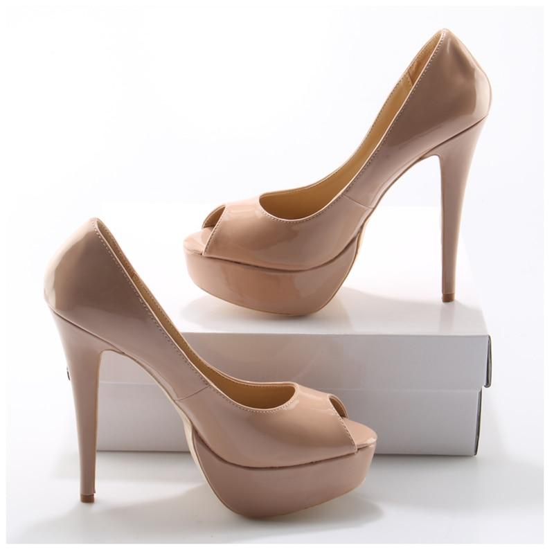 c3300b3e88433e Stiletto Pointu De Chaussures Luxe Marque Femmes Bout Verni Mince Pic Cuir  Pompes Haute Talons Pic Léopard Escarpins as En Star Piste As Femme ...