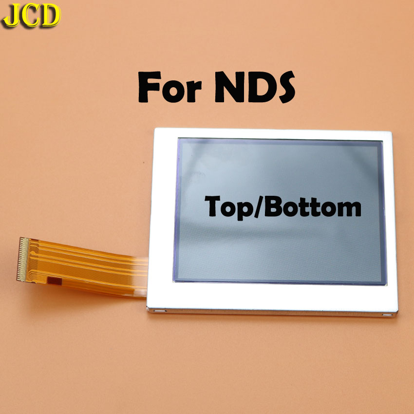 Image 2 - JCD 1pcs Top Bottom Upper Lower LCD Screen Display For Nintend DS Lite NDS NDSL NDSi for 3DS New 3DS LL XL for GBA SP-in Replacement Parts & Accessories from Consumer Electronics