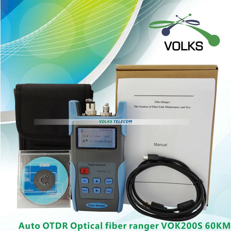 Auto OTDR Optical fiber ranger VOK200S 60KMAuto OTDR Optical fiber ranger VOK200S 60KM
