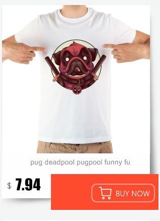 780275e7 Thanos bulldog funny tshirt men summer new white short sleeve casual ...