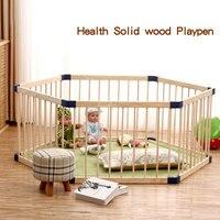 Детский манеж из массива дерева, детский игрушечный забор, детский ползет, Детский твердый деревянный защитный забор