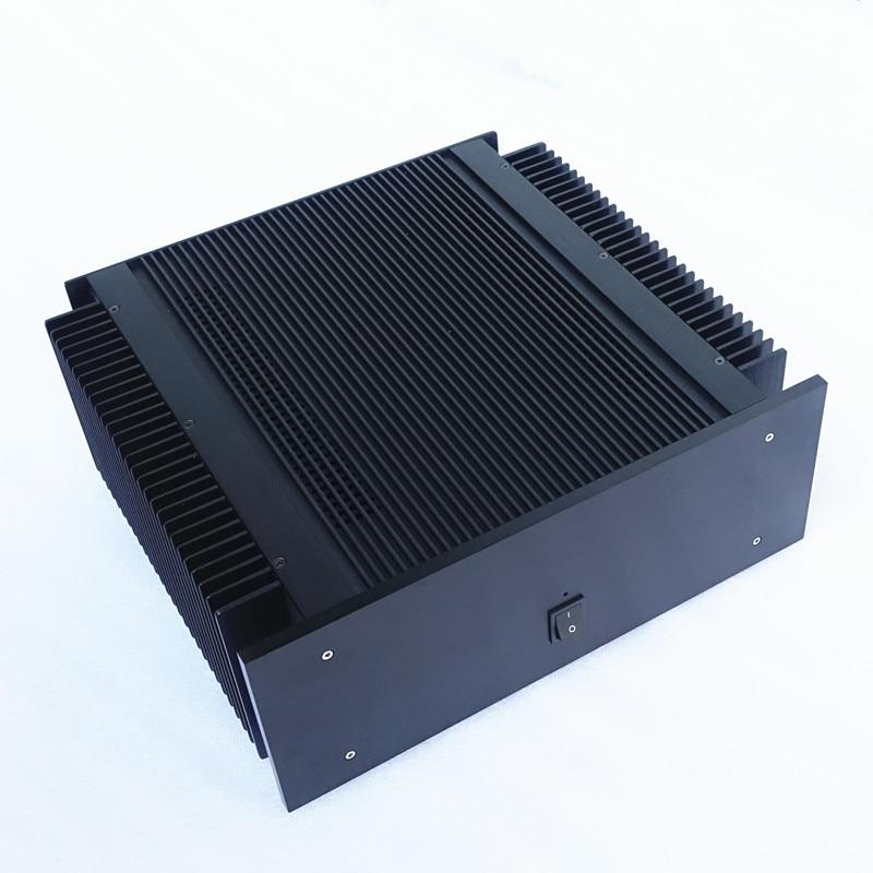 Weiliang audio et Brise Audio amplificateur de puissance châssis en aluminium cas audio amplificateur boîte BZ4015