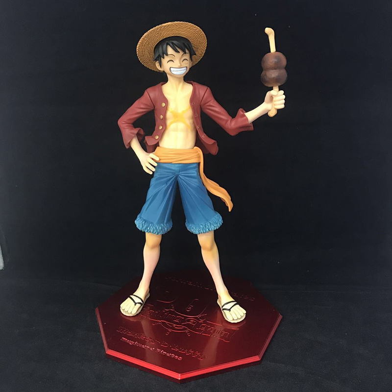 Action Figure 1/7 Scale Painted Figure Drumstick Ver One Piece Luffy Limited Ver Monkey D Luffy Pvc Figure Toy Brinquedos