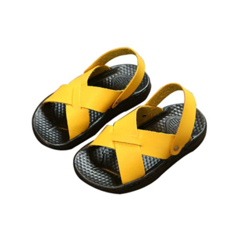 Unisex Child Sandal Boys Sandals Indoor Antiskid Sandals 2018 Summer Solid Girl Antiskid Girls Beach Shoe For Kids #010