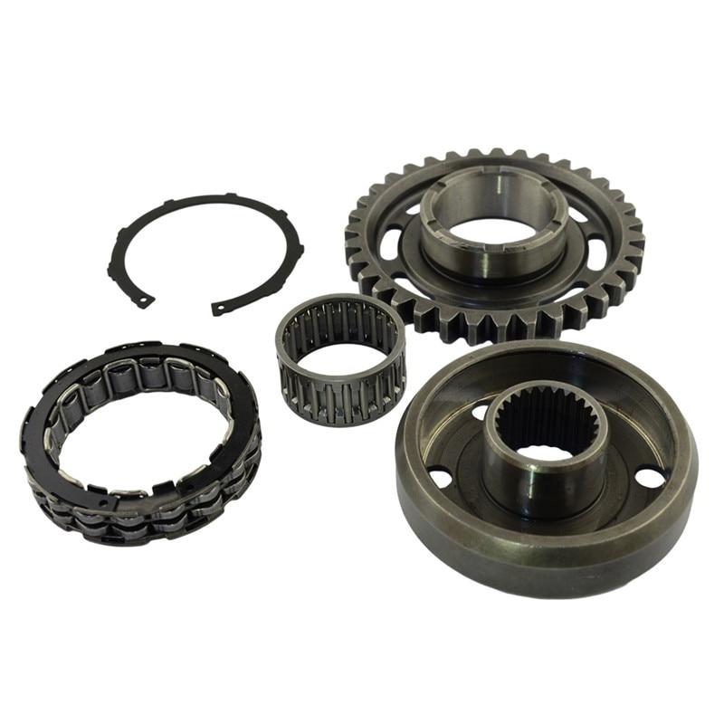 Детали для двигателя мотоцикла, стартер, яркий комплект сцепления для HONDA TRX450ER 2006-2014 TRX450R 2006-2009 CRF450X 2005-2009 2012-2017