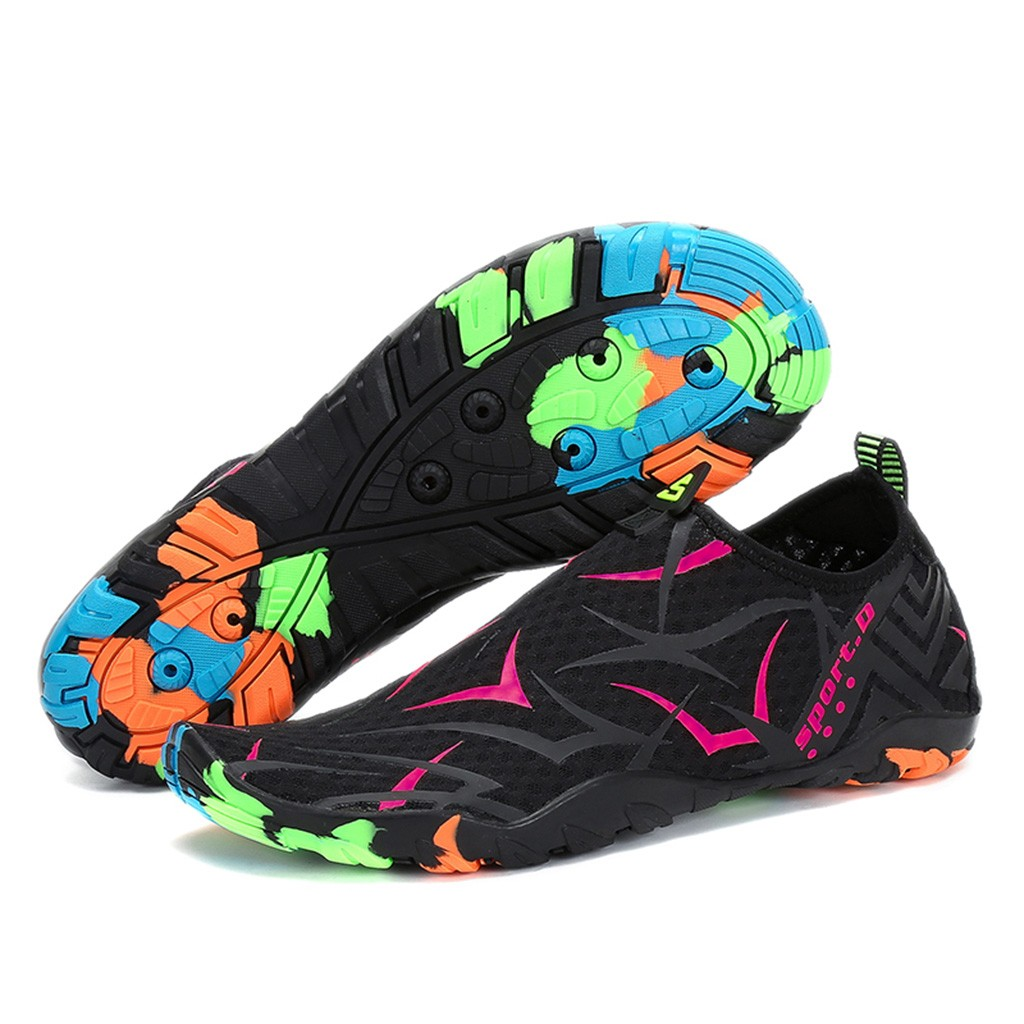 Unisex Women Water Swimming Quick Dry Barefoot Diving Flat Soft Breathable Sport Pool Beach Walking Yoga Shoes Women's Sneaker