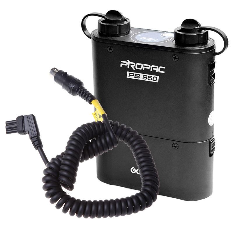 Godox PROPAC PB960 Flash Speedlite Battery Pack 4500mAh Power Cable for Nikon godox propac pb820 power battery pack for canon 580ex 580ex ii 550ex 430ez 540ez flash